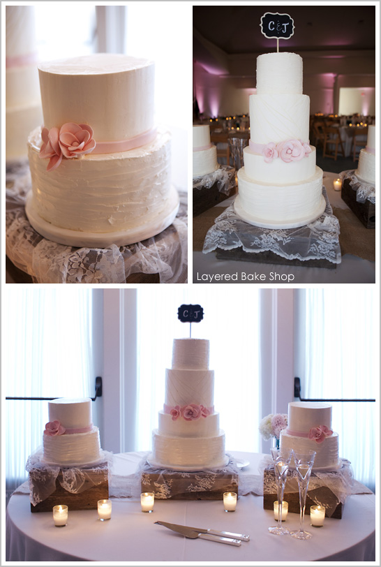 Sarah Kate Photography, Layered Bake Shop, Dallas Wedding Planner, Sweet Pea Events, Girly Wedding Cakes